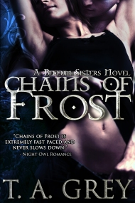 http://www.amazon.com/Chains-Frost-Bellum-Sisters-1/dp/1480083909/ref=sr_1_6?s=books&ie=UTF8&qid=1379096347&sr=1-6