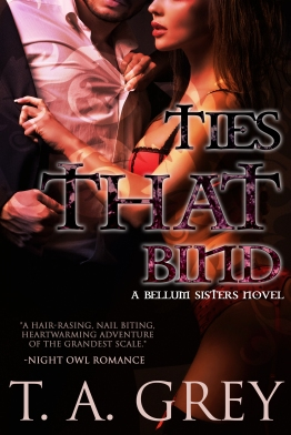Ties That Bind Cover Make Over
